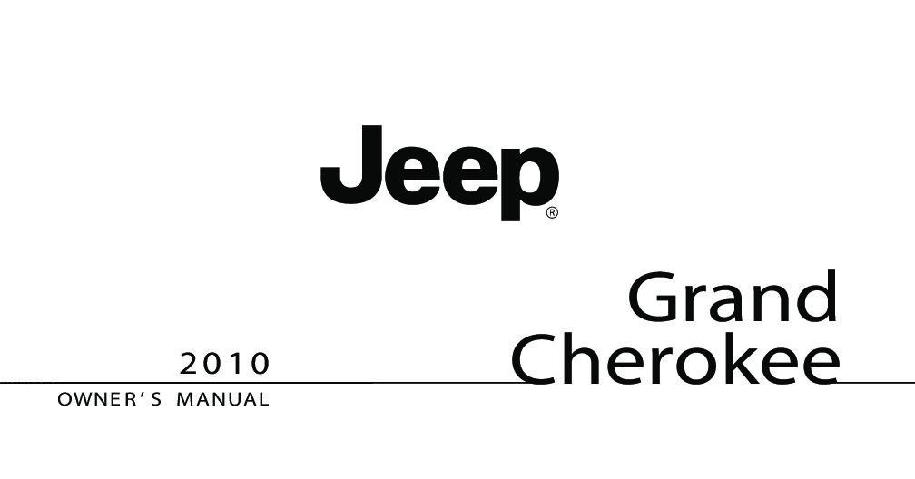 2001 jeep grand cherokee laredo owners manual