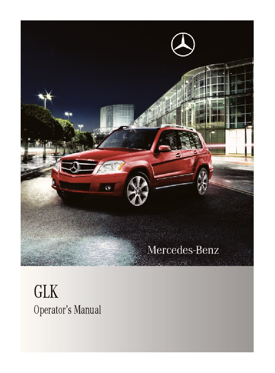 2010 mercedes benz glk class owners manual just give me the damn rh justgivemethedamnmanual com 2016 Mercedes GLK 2011 Mercedes GLK