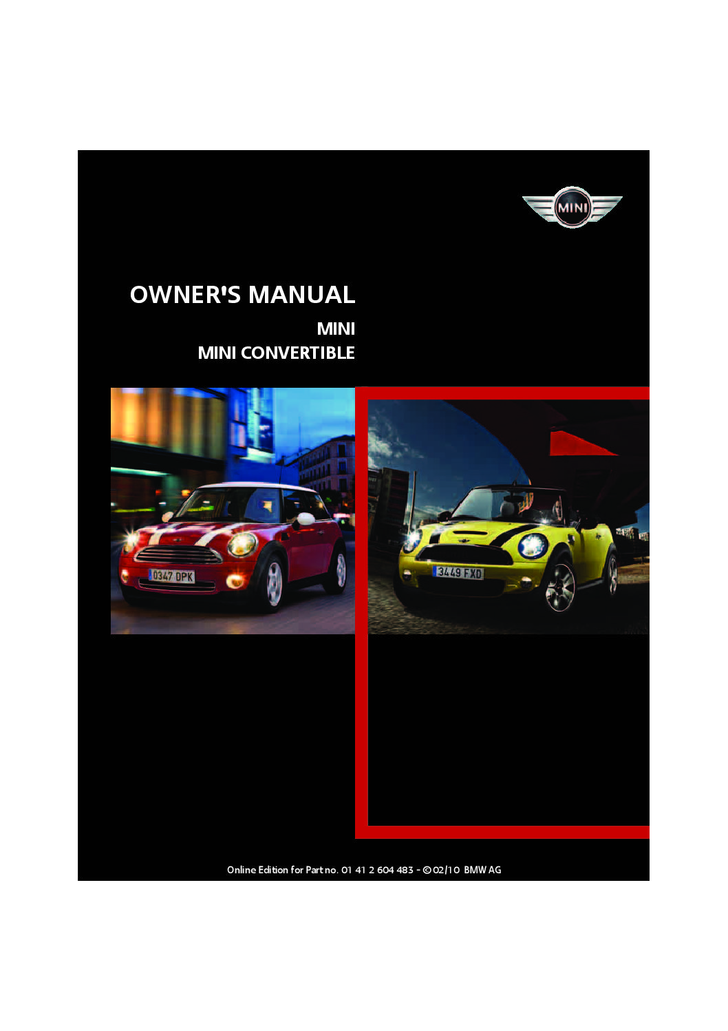2010 mini cooper convertible owners manual just give me the damn rh justgivemethedamnmanual com 2006 Mini Cooper S Console 2006 Mini Cooper S Console