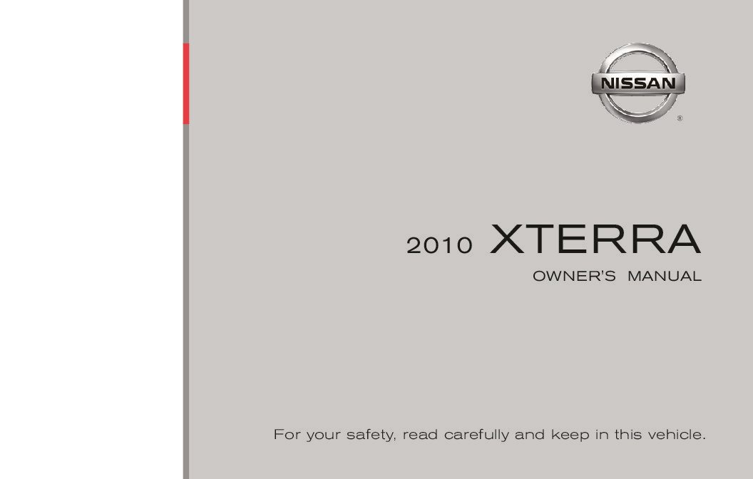 2010 nissan xterra owners manual just give me the damn manual rh justgivemethedamnmanual com nissan xterra owners manual 2012 nissan xterra owners manual 2005