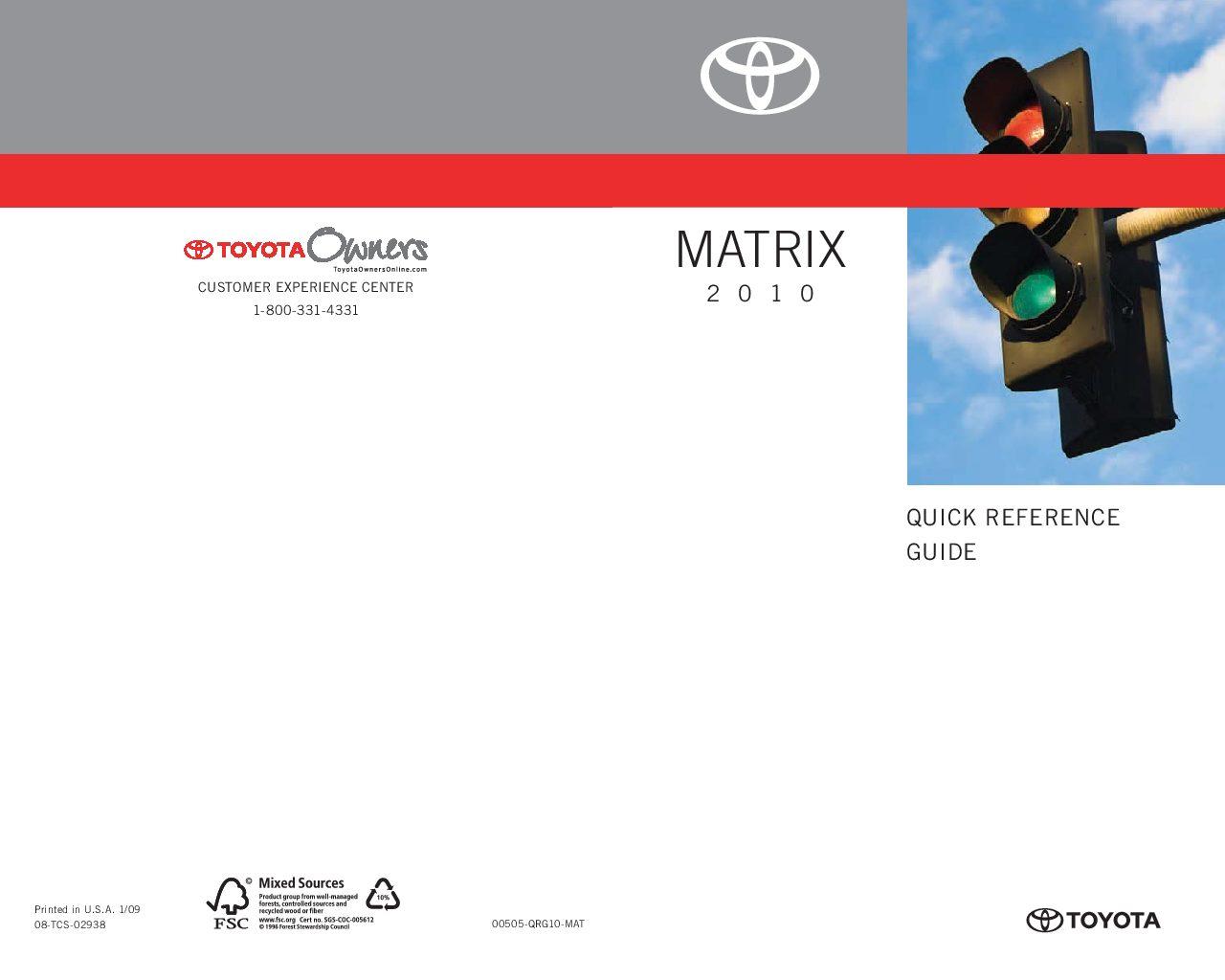 2010 toyota matrix owners manual just give me the damn manual rh justgivemethedamnmanual com 2003 Toyota Matrix Maintenance Schedule 2003 toyota matrix owners manual pdf