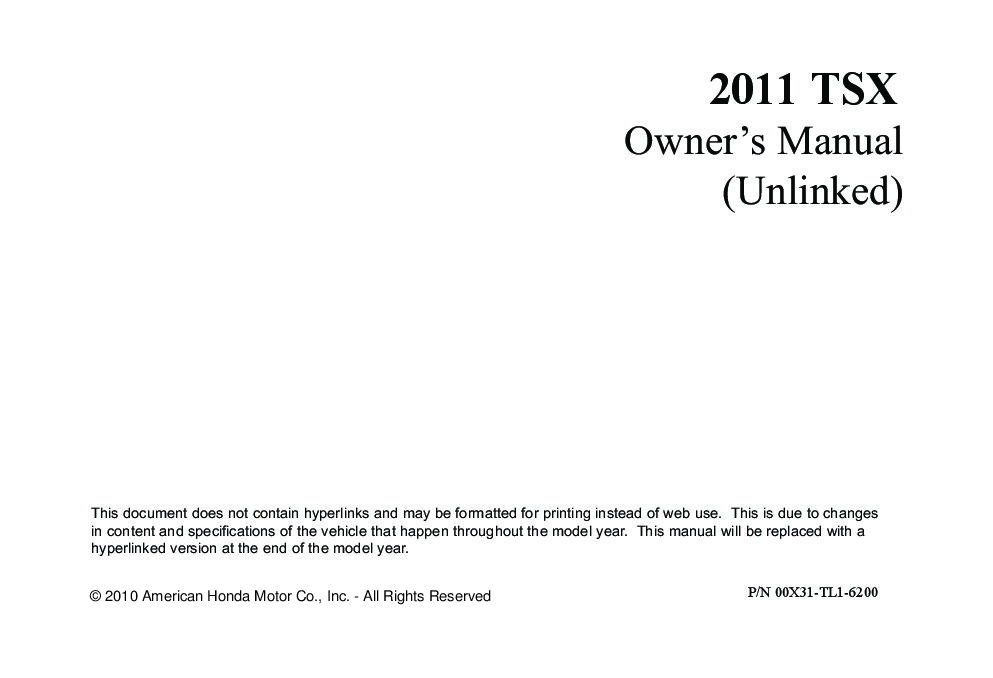 2011 acura tsx owners manual just give me the damn manual rh justgivemethedamnmanual com acura tsx owners manual 2010 acura tlx owners manual 2017