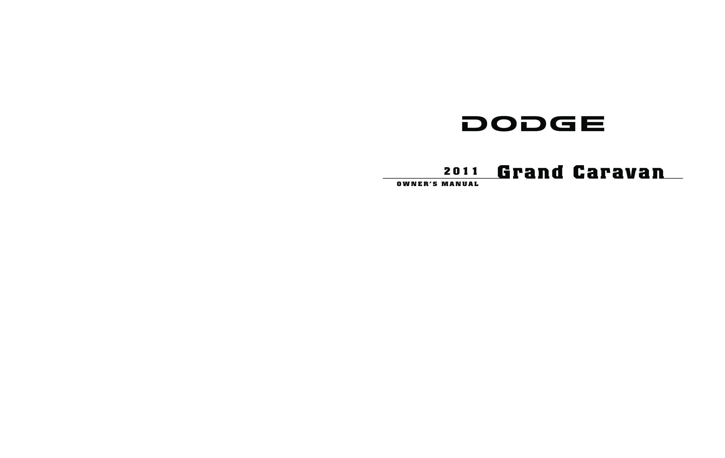 2011 dodge grand caravan owners manual just give me the damn manual rh justgivemethedamnmanual com 2011 dodge grand caravan repair manual pdf manuel utilisateur dodge grand caravan 2011
