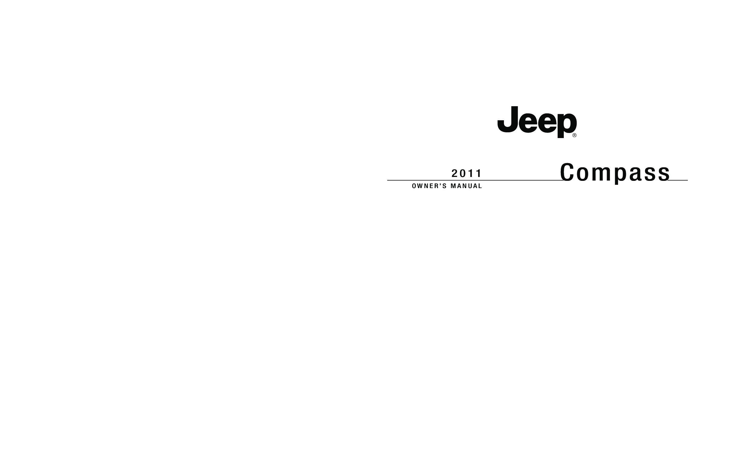 2008 jeep compass owners manual: jeep: amazon. Com: books.