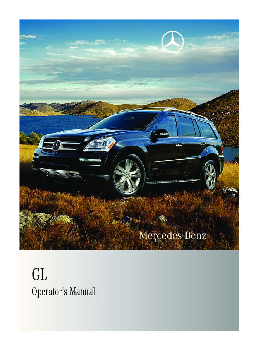 mercedes benz gl 450 owners manual user guide manual that easy to rh sibere co 2007 gl450 owners manual 2008 GL450 Specs