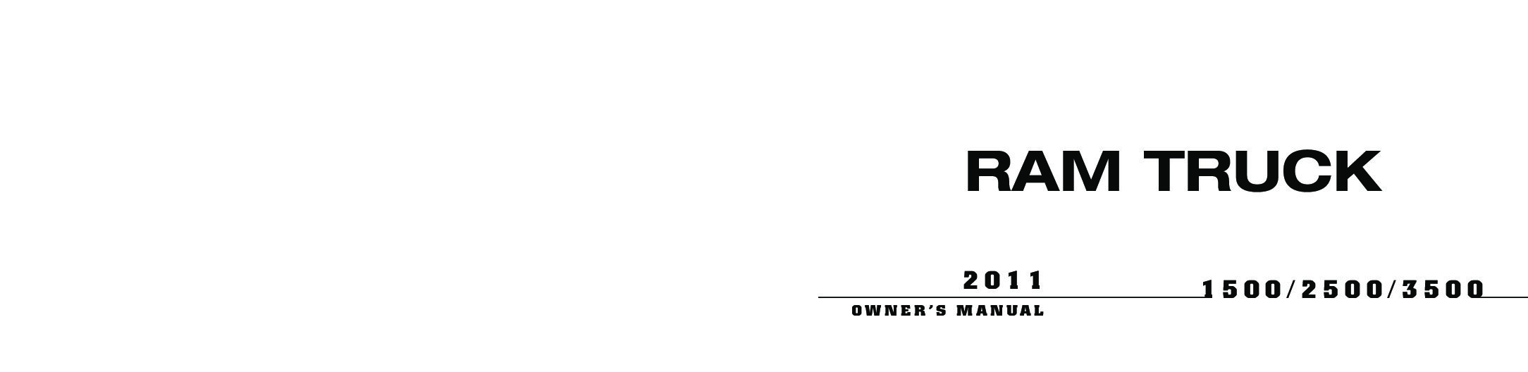 owners manual for 2012 dodge ram 1500