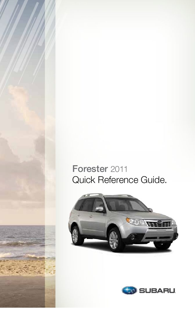 Array 2017 Subaru Forester Owners Manual Just Give Me The Rh Justgivemethemanual Com