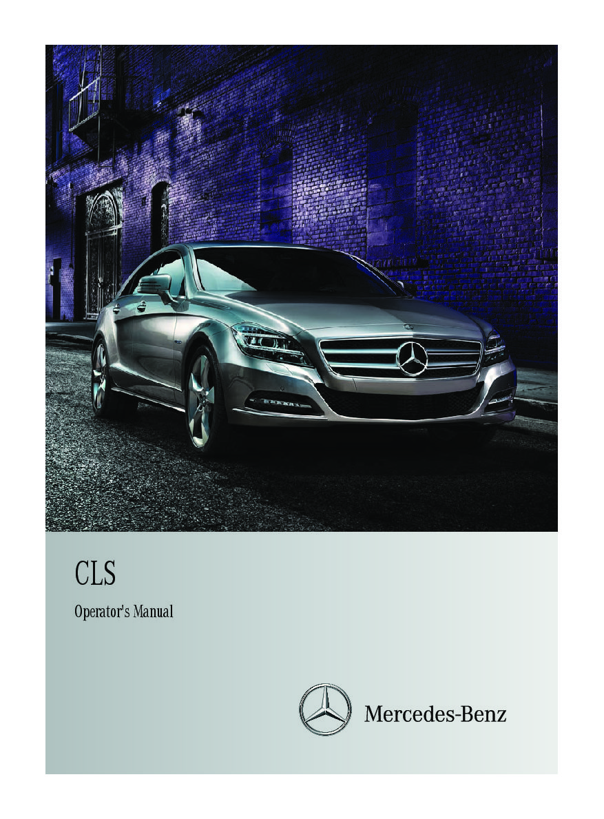 2012 mercedes benz cls class owners manual just give me the damn rh justgivemethedamnmanual com mercedes s class repair manual mercedes e class owners manual