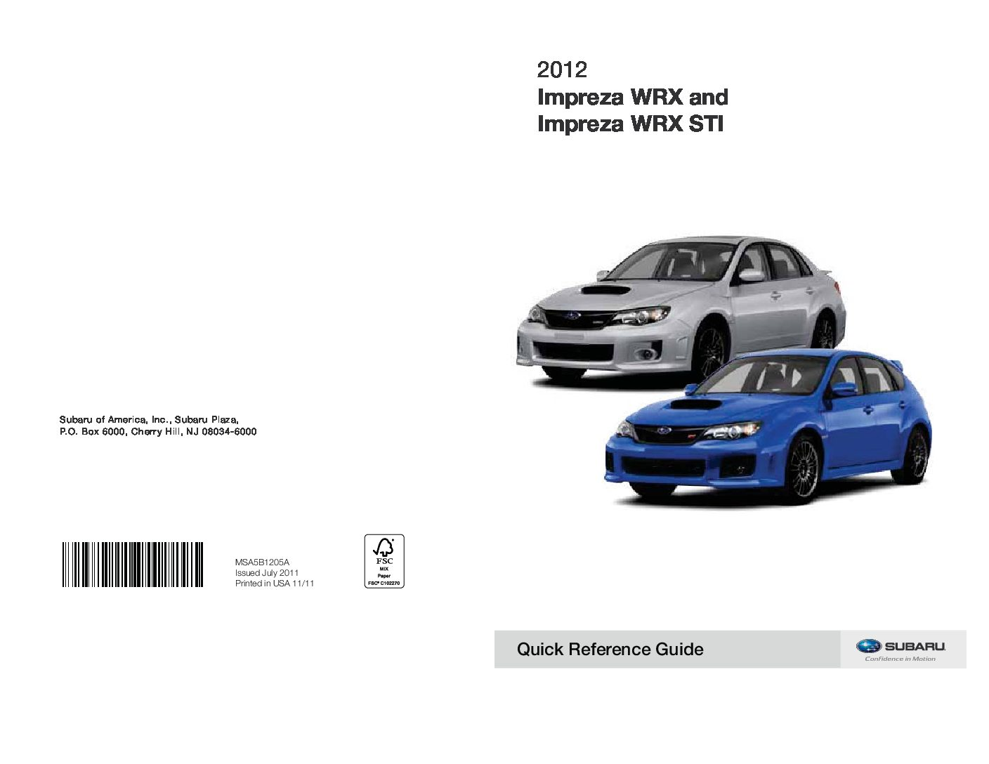 2012 subaru impreza wrx sti owners manual just give me the damn manual rh justgivemethedamnmanual com service manual subaru impreza service manual subaru impreza 2007