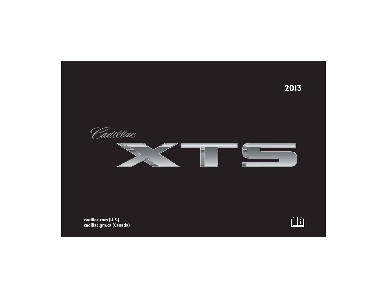 cadillac xts service manual