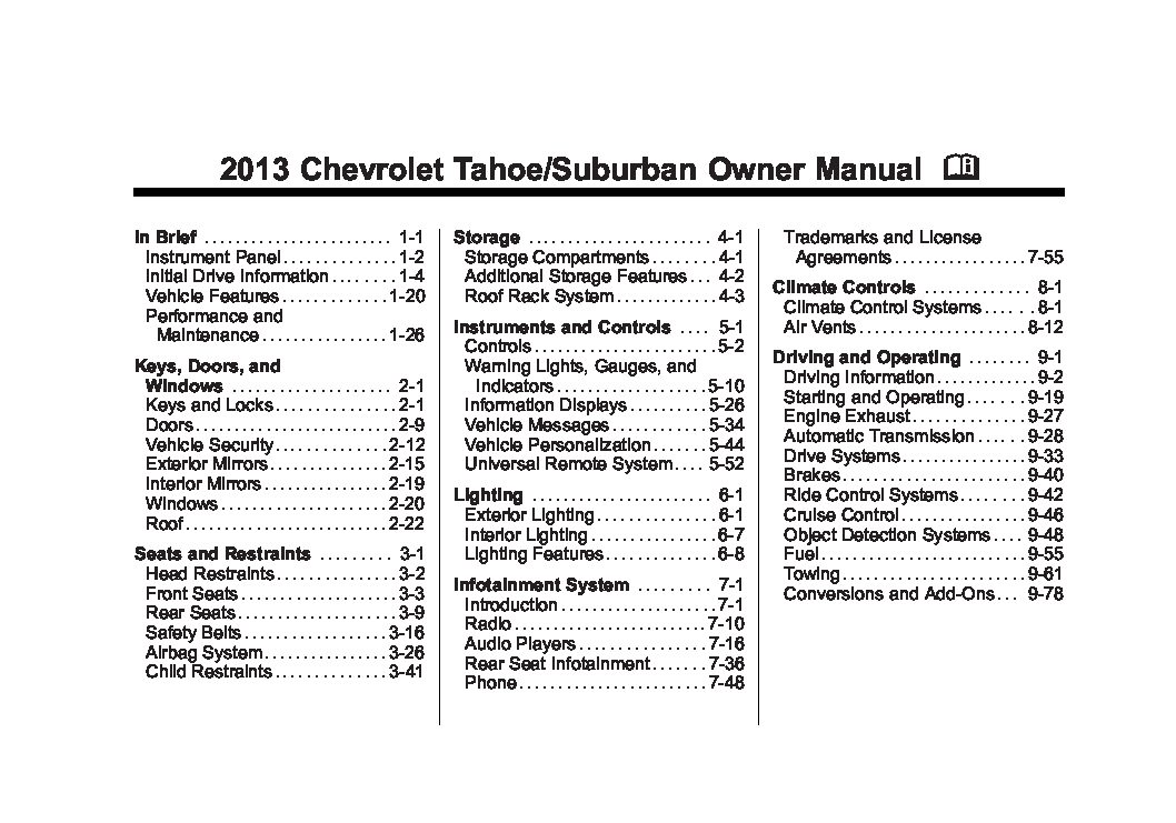 2013 chevrolet suburban ltz owners manual just give me the damn manual rh justgivemethedamnmanual com 2008 Chevrolet Suburban Z71 Front Suspension 2008 Chevrolet Suburban 1500 LTZ
