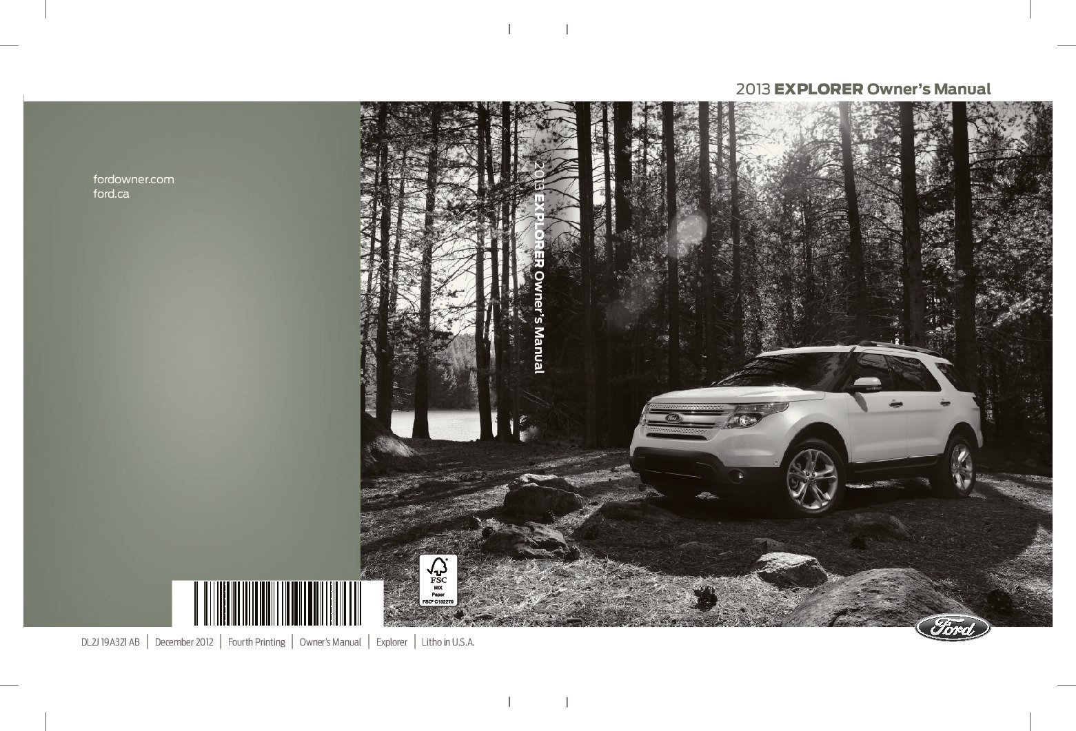 2013 ford explorer owners manual just give me the damn manual rh justgivemethedamnmanual com ford explorer manual 2015 explorer manual