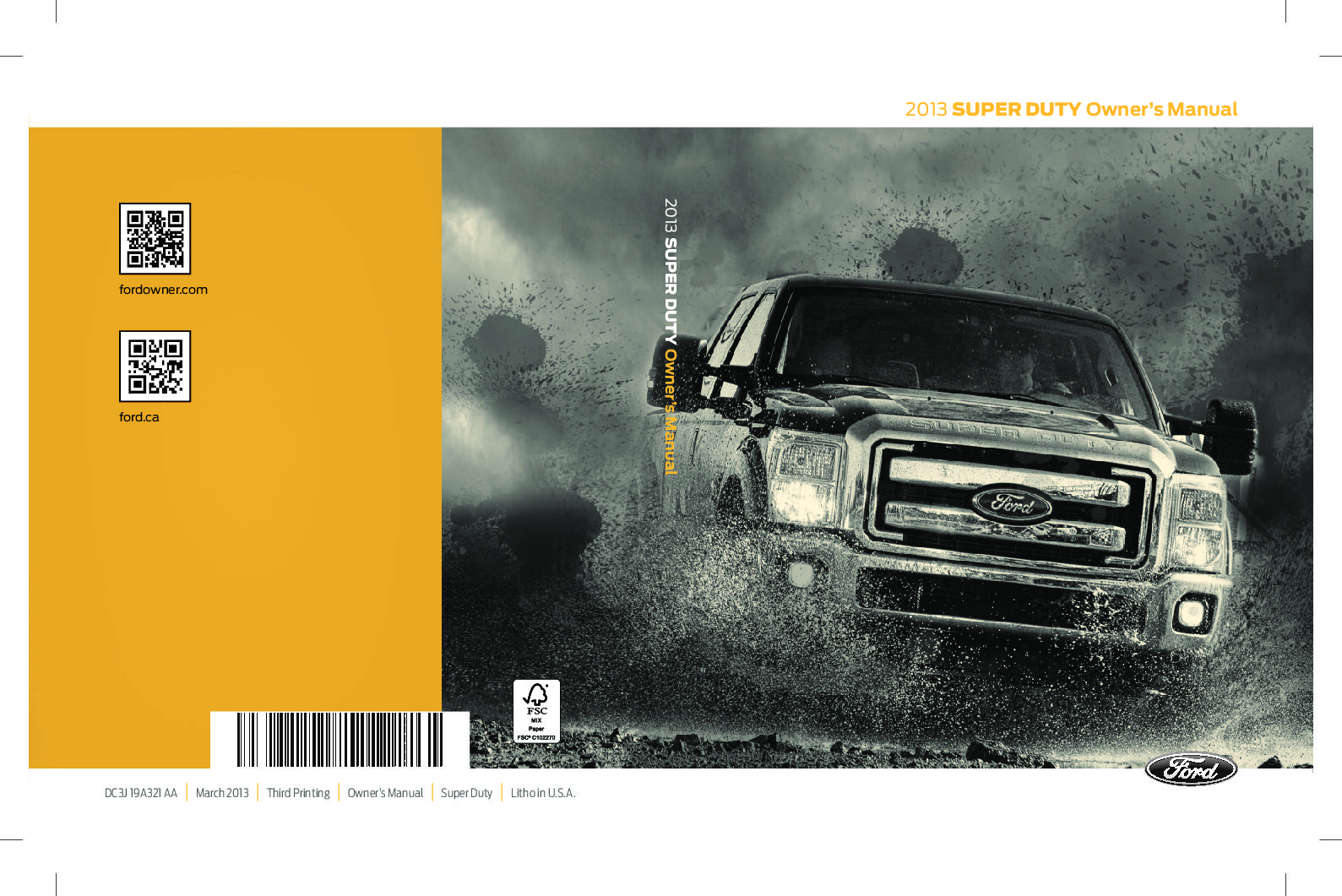 2013 ford f 250 owners manual just give me the damn manual rh justgivemethedamnmanual com Custom 2013 Ford Fusion Titanium 2015 ford fusion titanium owners manual