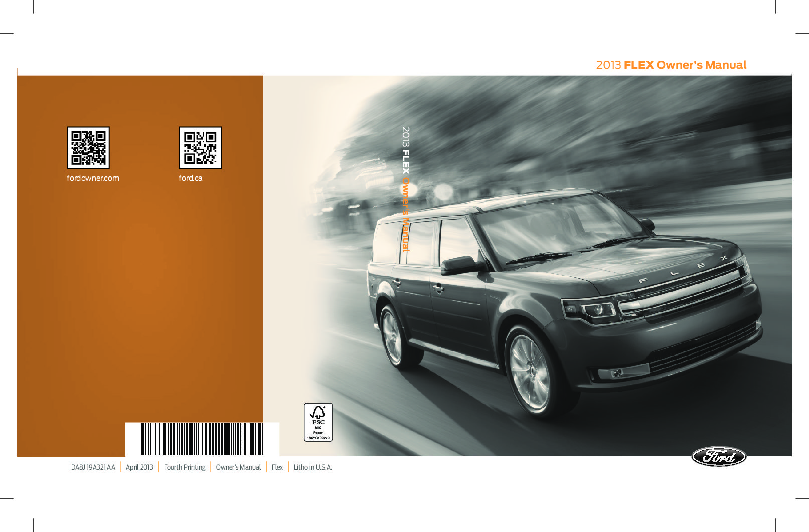 2013 ford flex owners manual just give me the damn manual rh justgivemethedamnmanual com 2013 flex owner's manual 2012 flex owner manual