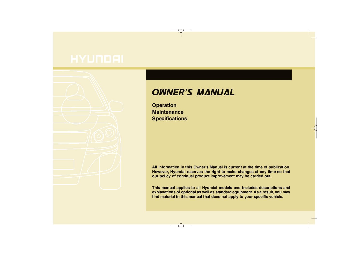 2013 hyundai elantra owners manual just give me the damn manual rh justgivemethedamnmanual com hyundai owners manual pdf hyundai owners manual