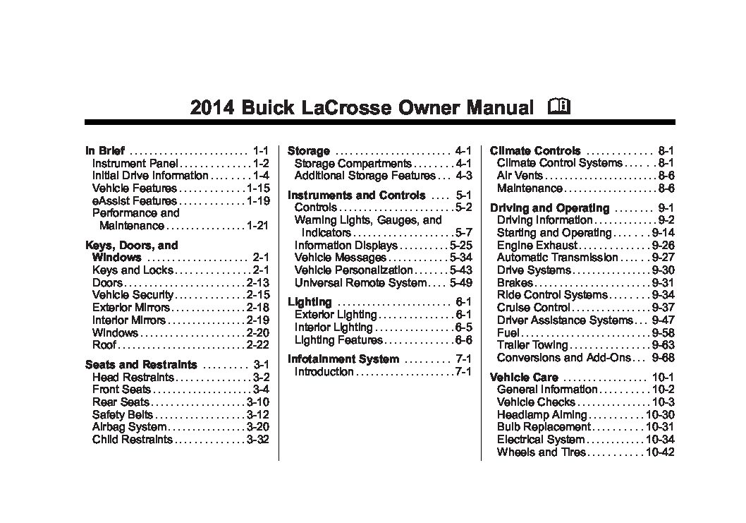 2014 buick lacrosse owners manual just give me the damn 2007 Buick Lacrosse Problems 2007 buick lacrosse owners manual