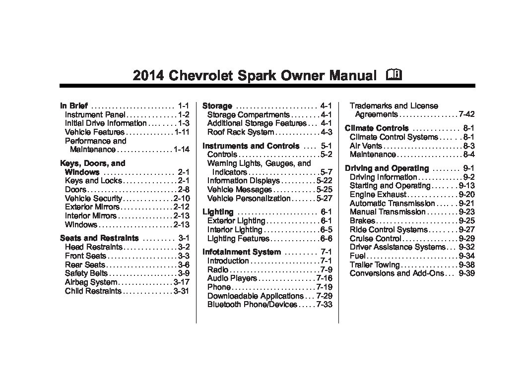 2014 chevrolet spark owners manual just give me the damn manual 2014 chevrolet spark owners manual publicscrutiny Images