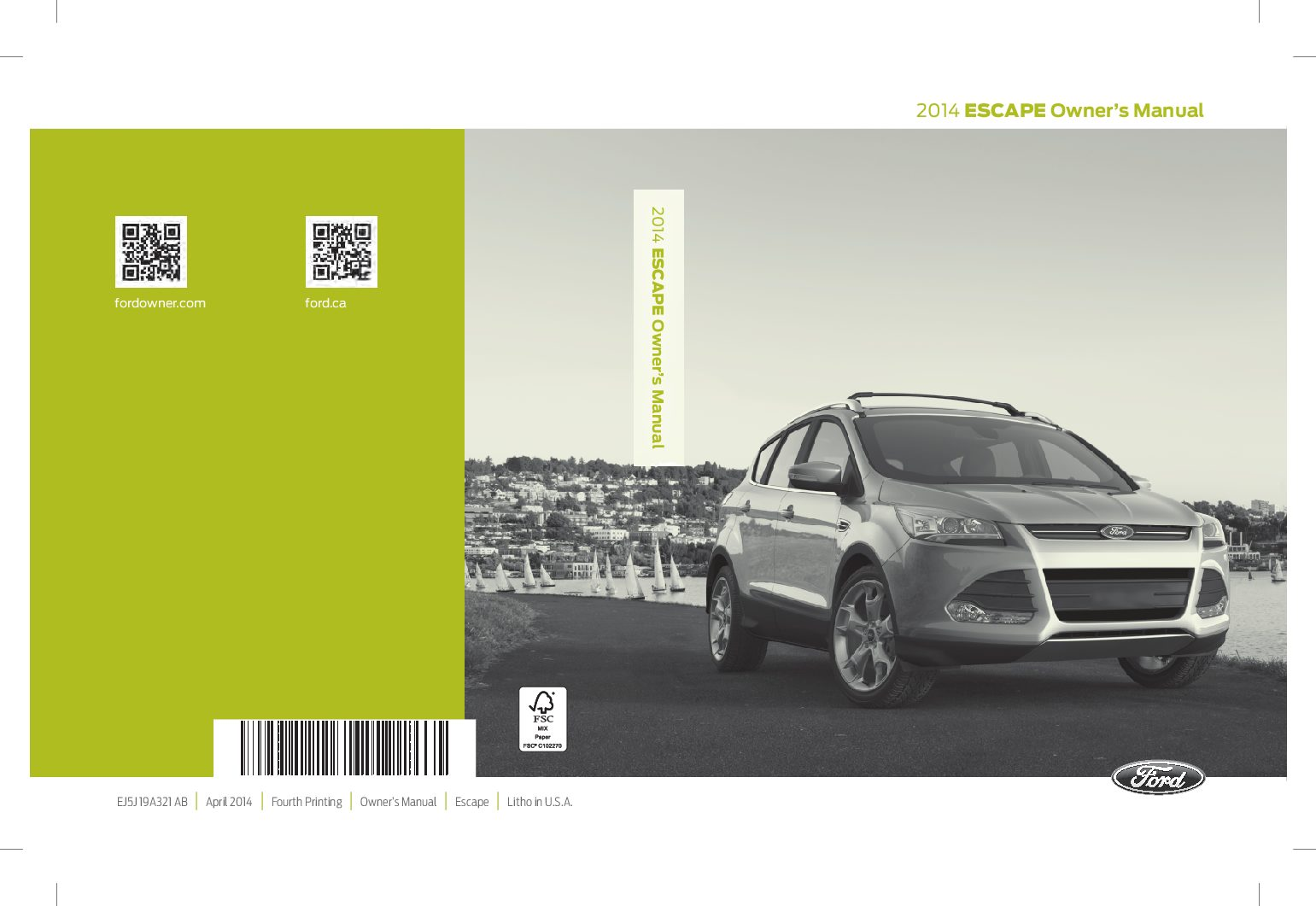 2014 ford escape owners manual just give me the damn manual rh justgivemethedamnmanual com Ford Pinto ford focus 2008 service manual pdf