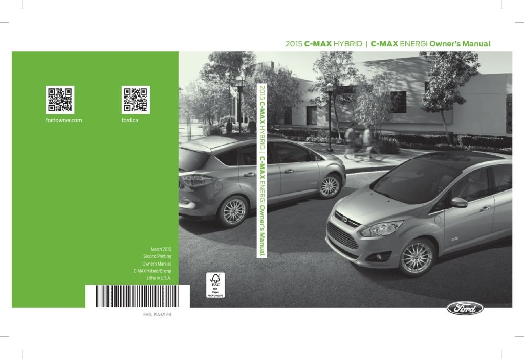 2015 Ford C Max Owners Manual Just Give Me The Damn Manual