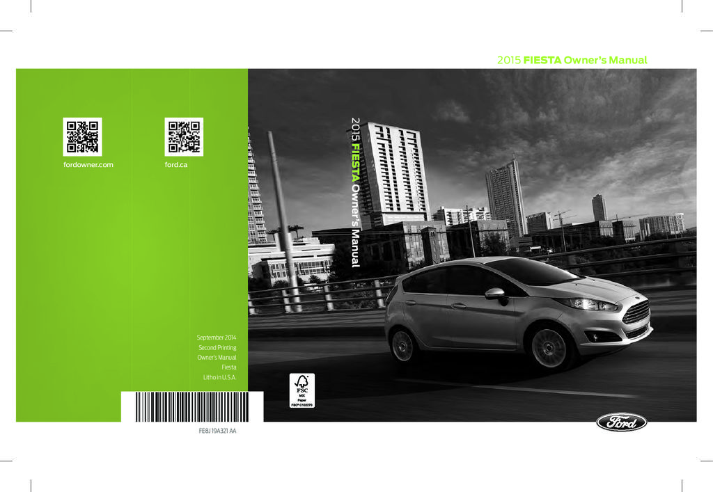 ford fiesta owners manual  give   damn manual