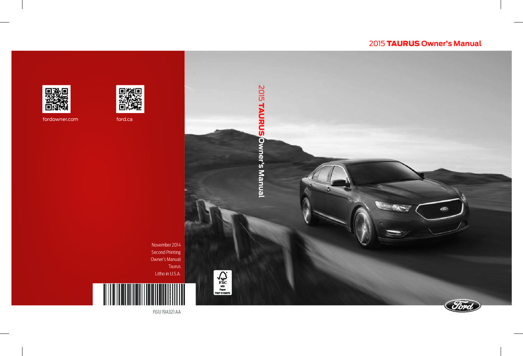 ford taurus owners manual  give   damn manual