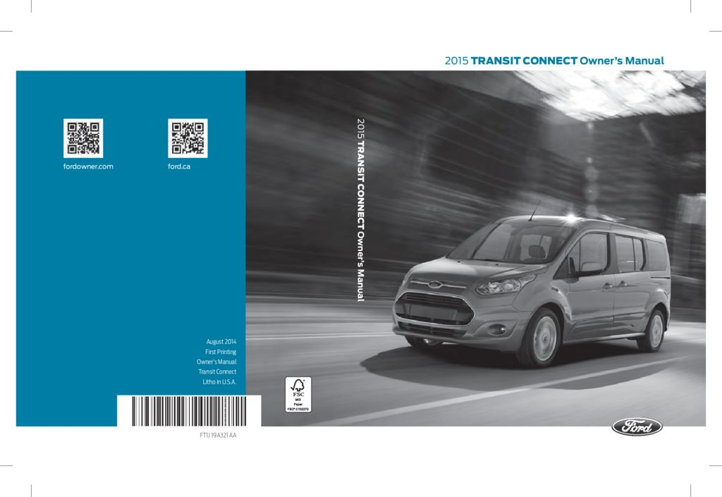 ford transit connect owners manual  give