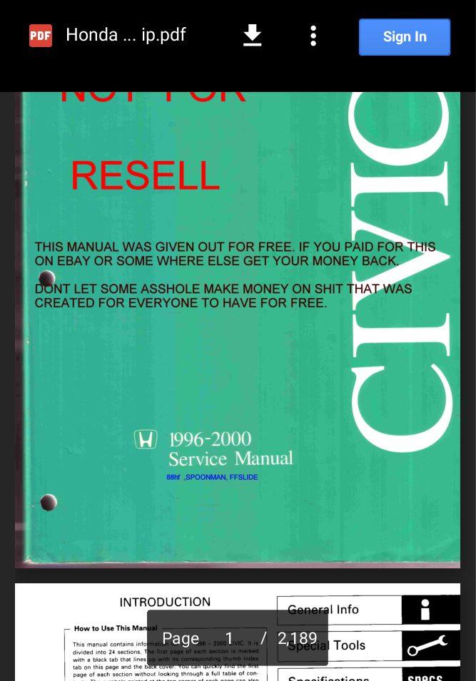 1996-2000 honda civic repair (1996, 1997, 1998, 1999, 2000) ifixit.