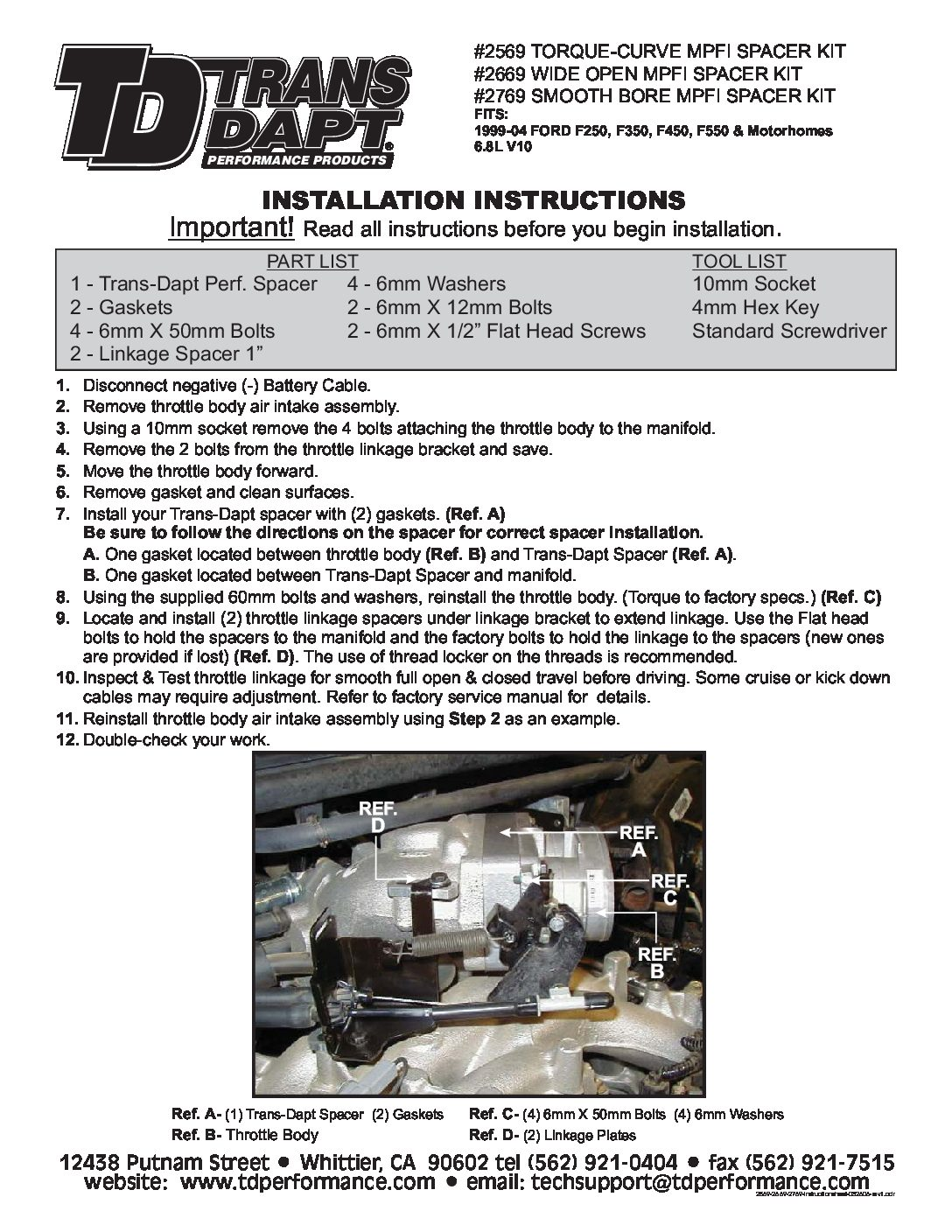 2001 Ford F-250 XLT Owner's Manual Owner's Manual