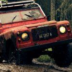 truck stuck in mud